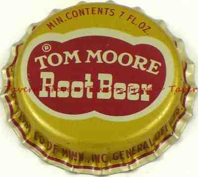 V2 1950s no bottler MISSION ROOT BEER SODA Cork Crown Tavern Trove