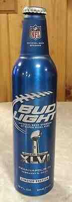 2007 Bud Light 3.2/% Aluminum Bottle Beer Can #500601