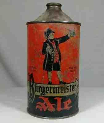 Burgermeister Beer Can Beer Can