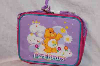 NEW WITH TAG 2002 CARE BEARS BLUE LUNCHBAG// LUNCHBOX