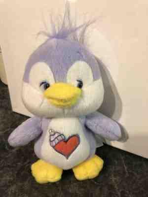 "Care Bear Cousin ~ 8/"" Collector/'s Ed ~ Cozy Heart Penguin ~ New ~ Rare ~ Retired"
