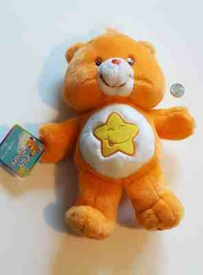 Orange Care Bears Plush Laugh A Lot Stuffed Animal Large Classic Star Doll Toy