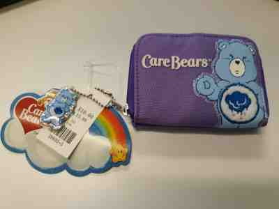 Care Bears Embossed Collector's Tin Purse w// Rainbow Colored Adjustable Strap
