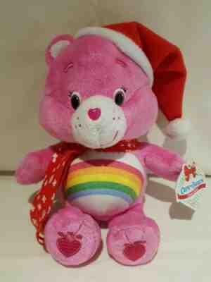 8 inches NWT 8 Care Bears 2018 Christmas Cheer Bear Plush