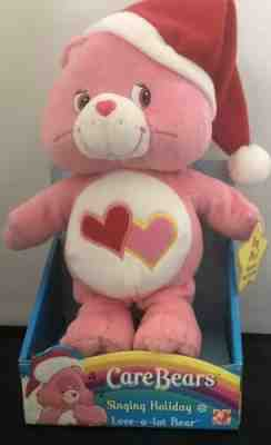 Care Bears Singing Holiday Love a Lot Bear 2004 by Play Along