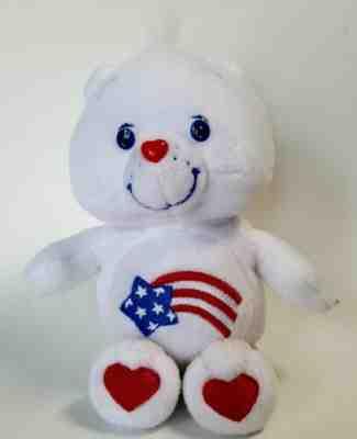 "Red Feet 2005 Retired 8/""  America Cares Bear Care Bears"