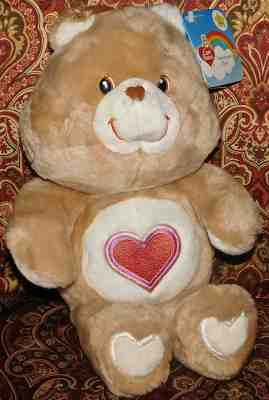 Care Bear TenderHeart  Bear Play Along 20th Anniversary MIB