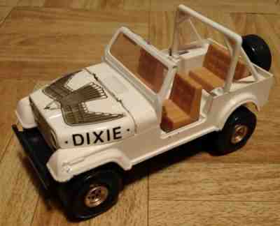 MEGO DUKES OF HAZZARD REPRO STICKERS FOR DAISY JEEP 1980 PEEL and STICK PRECUT