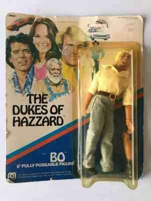 DUKES OF HAZZARD BOSS HOGG 8 INCH ACTION FIGURE NEW MOSC